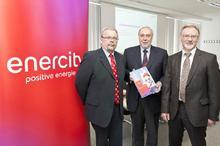 Der enercity-Vorstand präsentiert den enercity Report 2012