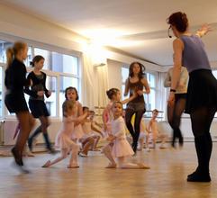 Proben in der Tanzwerkstatt