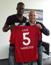 Salif Sané und Dirk Dufner