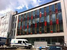 Neuer Teil des Lindener Rathauses