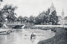 Maschpark um 1900