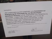 Der von SPD und GRÜNEN unterzeichnete Antragstext für die Einsetzung einer Kommission