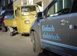 VW e-up! im Stadtverkehr