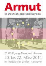 20. Wolfgang-Abendroth-Forum zum Thema Armut in Deutschland und Europa