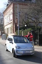 Im Härtetest: VW e-up! - Auf 89 m ü. NN