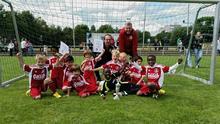 Erfolgreiche F-Jugend der SG 74