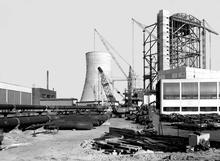 Kraftwerk Stöcken im Bau