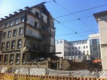 Das Haus des niedersächsischen Städtetages am Aegi wird abgerissen