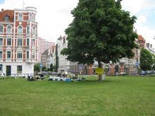 Picknick auf dem Lichtenbergplatz
