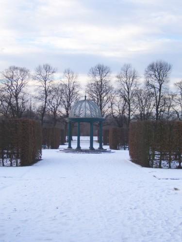 Winter in den Herrenhäuser Gärten