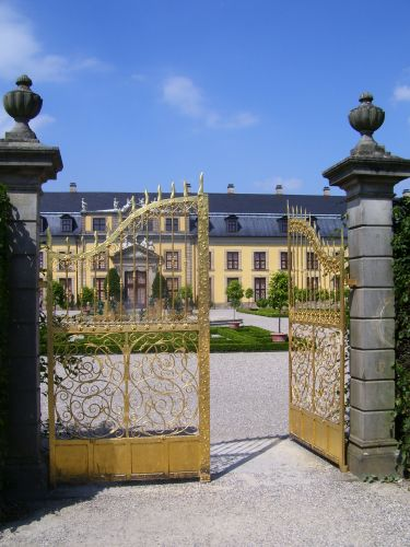 Goldenes Tor in Herrenhausen