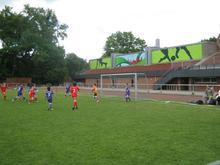Stadion auf dem Lindener Berg (gespielt wird aber in der Halle)