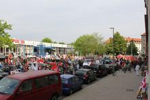 Treff zur Mai-Demo am Freizeitheim Linden