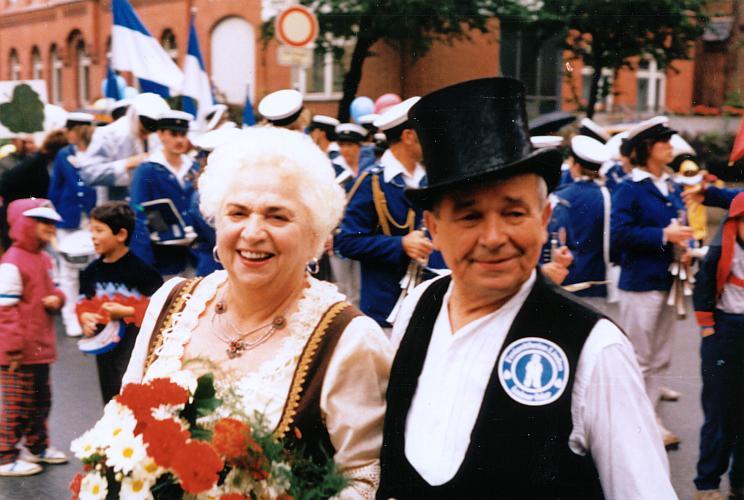 Anni und Fritz Röttger