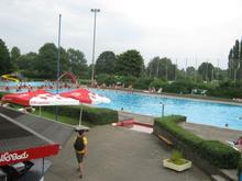 Limmer Volksbad ohne Hochwasser