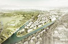 Geplante Wasserstadt Limmer