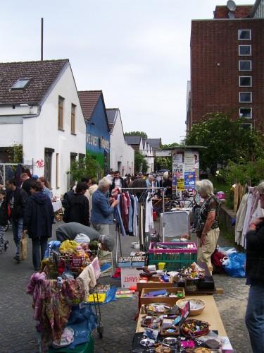 Stöbermarkt auf dem Faustgelände