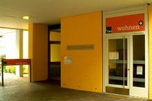 Wohncafe der GHB am Pfarrlandplatz (Quelle: Wikipedia - Foto: Bernd Schwabe)