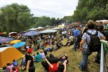 Fährmannsfest Festivalbühne