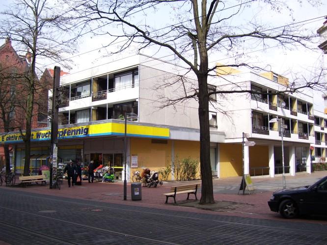 Edeka im Werner-Blumenberg-Haus