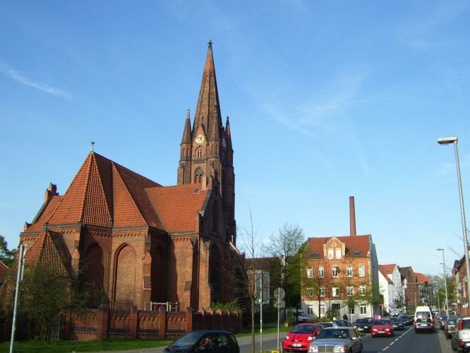 Kirchliche Heimat des Gospel - Die Erlöserkirche in Linden-Süd