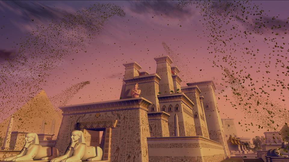 Der Palast des Pharao