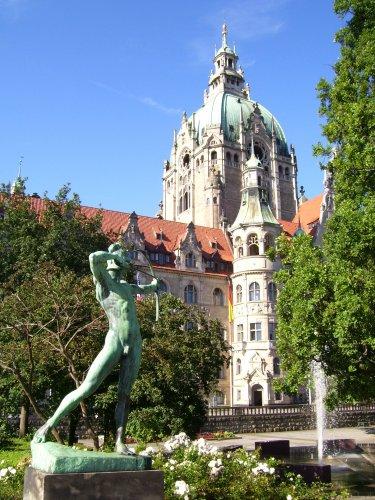 Immer im Visier: Neues Rathaus Hannover