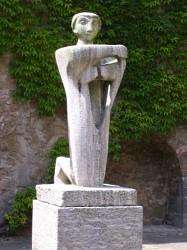 Skulptur Demut
