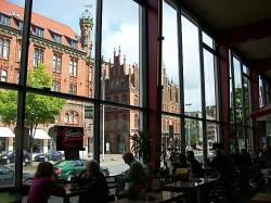 Blick aus der Fensterfront