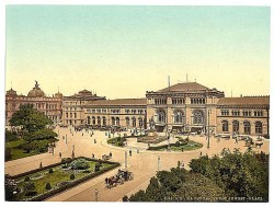 Hannoverscher Hauptbahnhof um 1900
