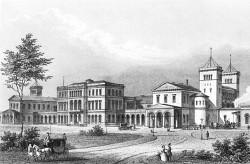 Hauptbahnhof Hannover um 1850