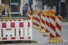 Gleisbauarbeiten auf der Vahrenwalder Straße