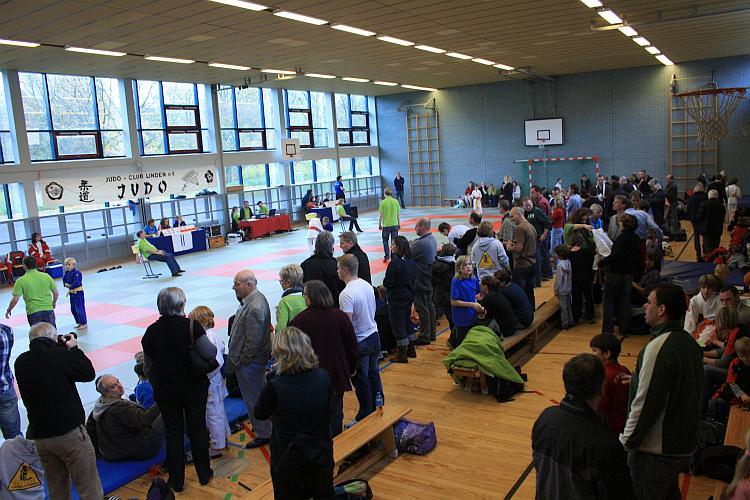 Volles Haus bei den Regionseinzelmeisterschaften am 07.11.