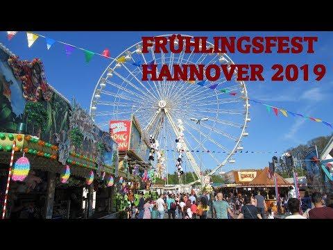 Frühlingsfest Hannover 2019: Rundgang mit allen Top-Attraktionen