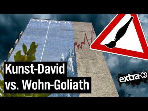 Realer Irrsinn in Hannover: Vonovia gegen kritische Kunst | extra 3 | NDR