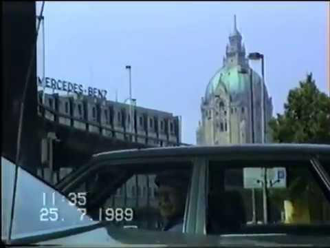 Hannover 1989 - Fahrt durch die Stadt - Teil 3