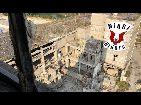 Lost Place: die verlassene Zementfabrik in Hannover - Night Riders Urbex