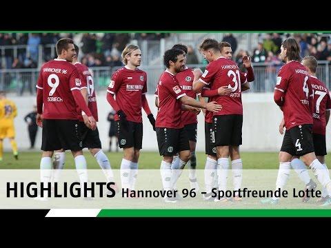 Highlights | Hannover 96 - Sportfreunde Lotte