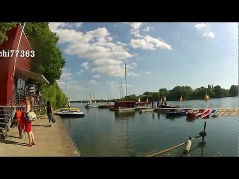 Fahrrad Tour Maschsee Hannover GoPro Hero2 2012 Bicycle tour around Lake Masch