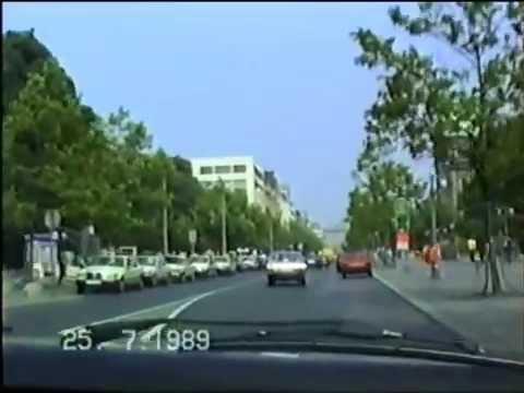 Hannover 1989 - Fahrt durch die Stadt - Teil 1