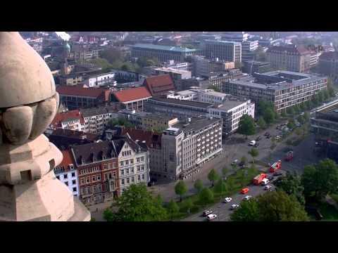 Neues Rathaus Hannover - Turmauffahrt & Ausblick - 2D-Version