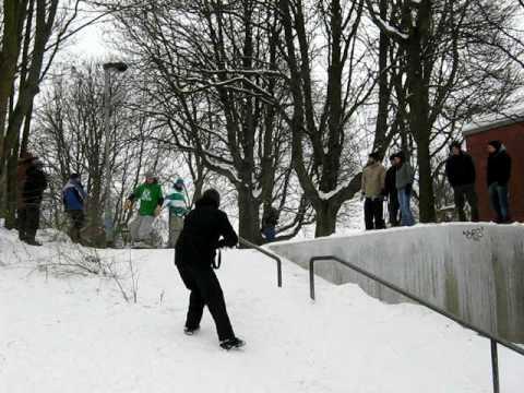Snowboard Rail Jam Lindener Berg
