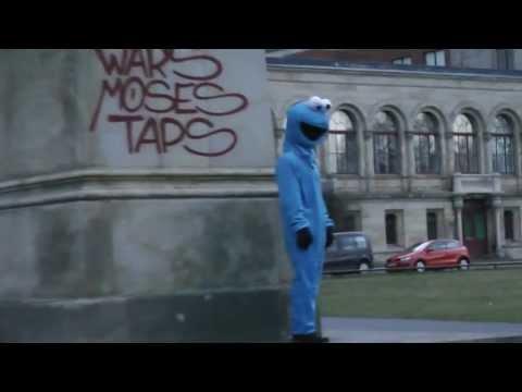 Krümelmonster Cookie Monster Hurra, der Keks ist wieder da Goldene Bahlsen Keks Klau Hannover