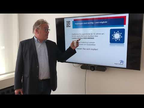 Regionspräsident Hauke Jagau zur aktuellen Corona-Entwicklung in der Region Hannover