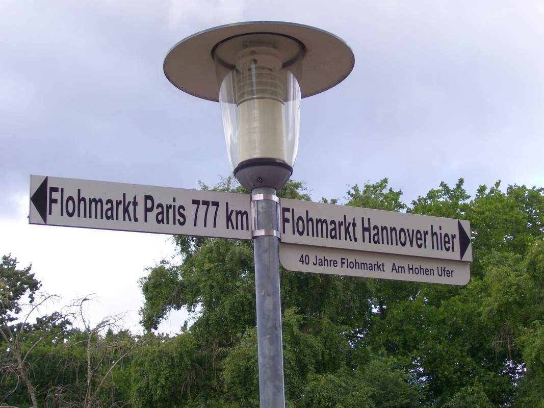 Der Rote Faden Hannover - Flohmarkt