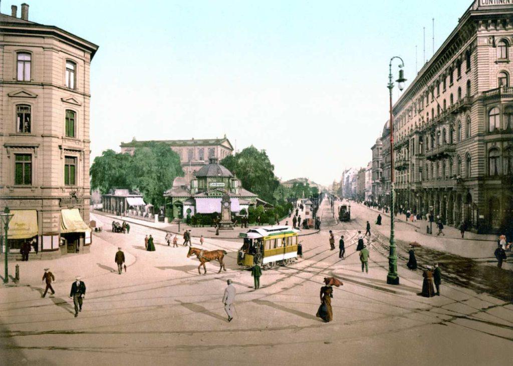 Kröpcke um 1895