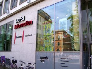 Tourist Information am Bahnhof