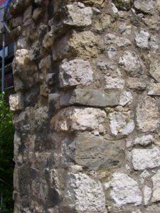 Ein Stück der ehemaligen Stadtmauer