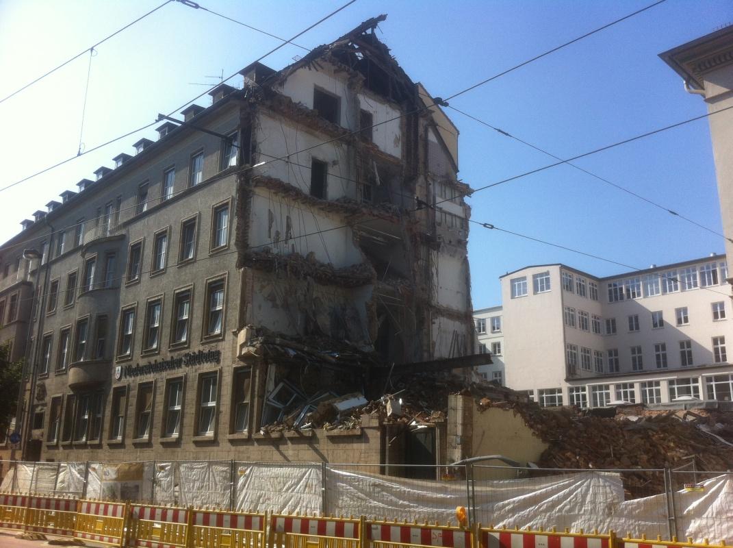 Abriss des niedersächsischen Städtetages