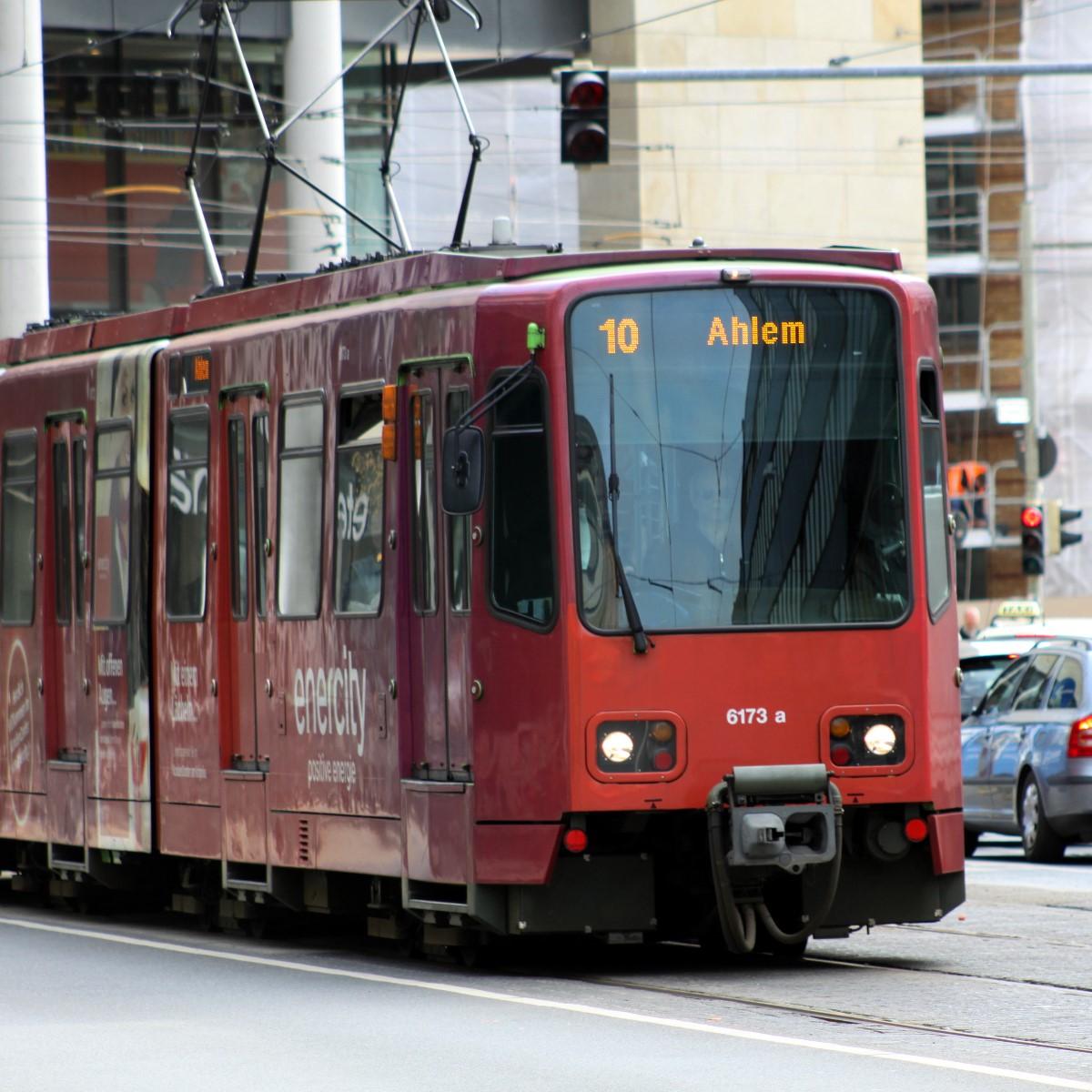 Bahn Linie 10 Ahlem